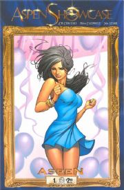 Aspen Showcase Aspen Matthews #1 Ale Garza Cover (2008) comic book